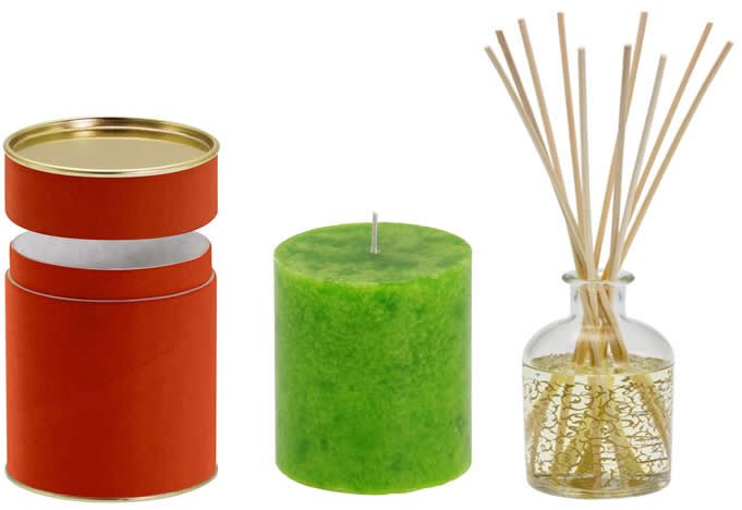 Spice Packaging - Candles and Diffusers